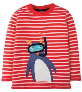 Aplikatsiooniga pluus DISCOVERY / pingviin
