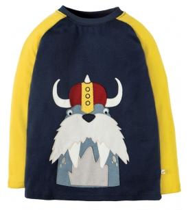 Frugi aplikatsioonpildiga pluus Jake / viikingmorsk
