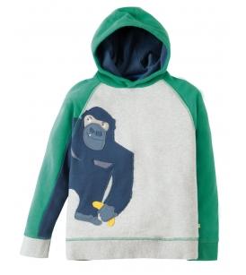 Kapuutsiga dressipluus HEDGEROW / gorilla