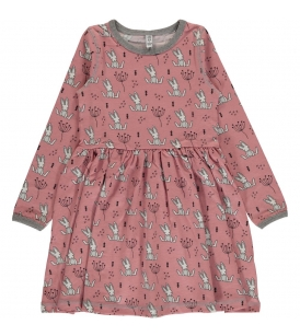 Kroogitud seelikuosaga kleit SWEET BUNNY
