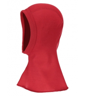 Meriinovillane tuukrimüts / punane