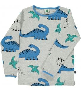 Dinosaurustega t-särk / hall