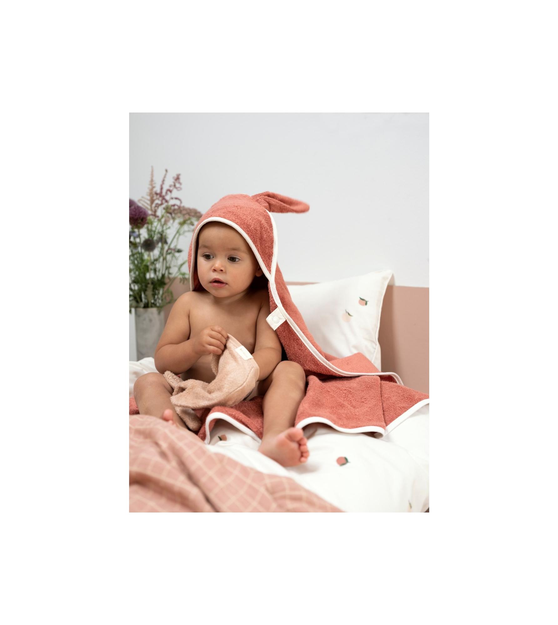 Hooded Baby Towel - Bunny - Clay 2_edit.jpg