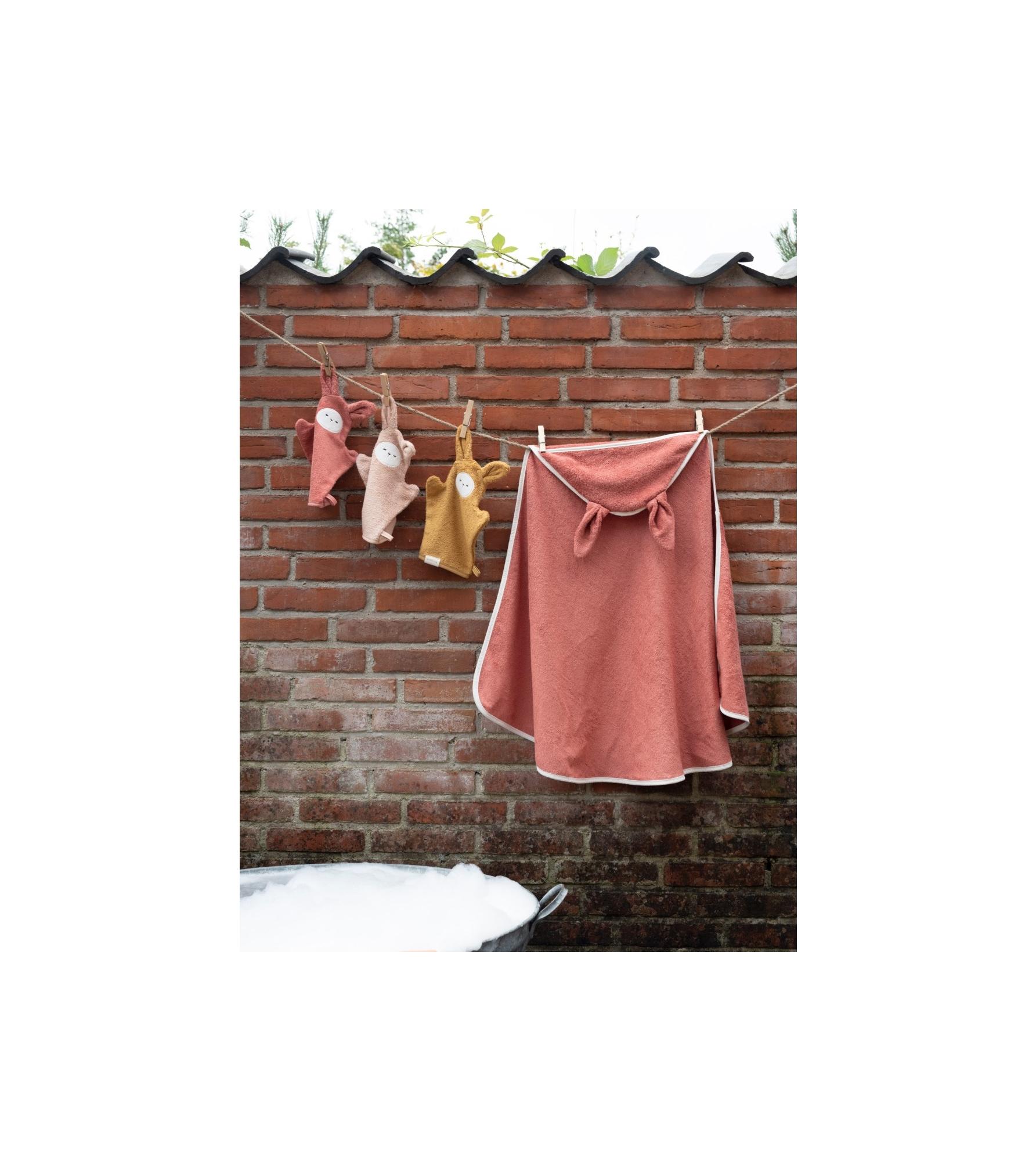 Hooded Baby Towel - Bunny - Clay 3_edit.jpg