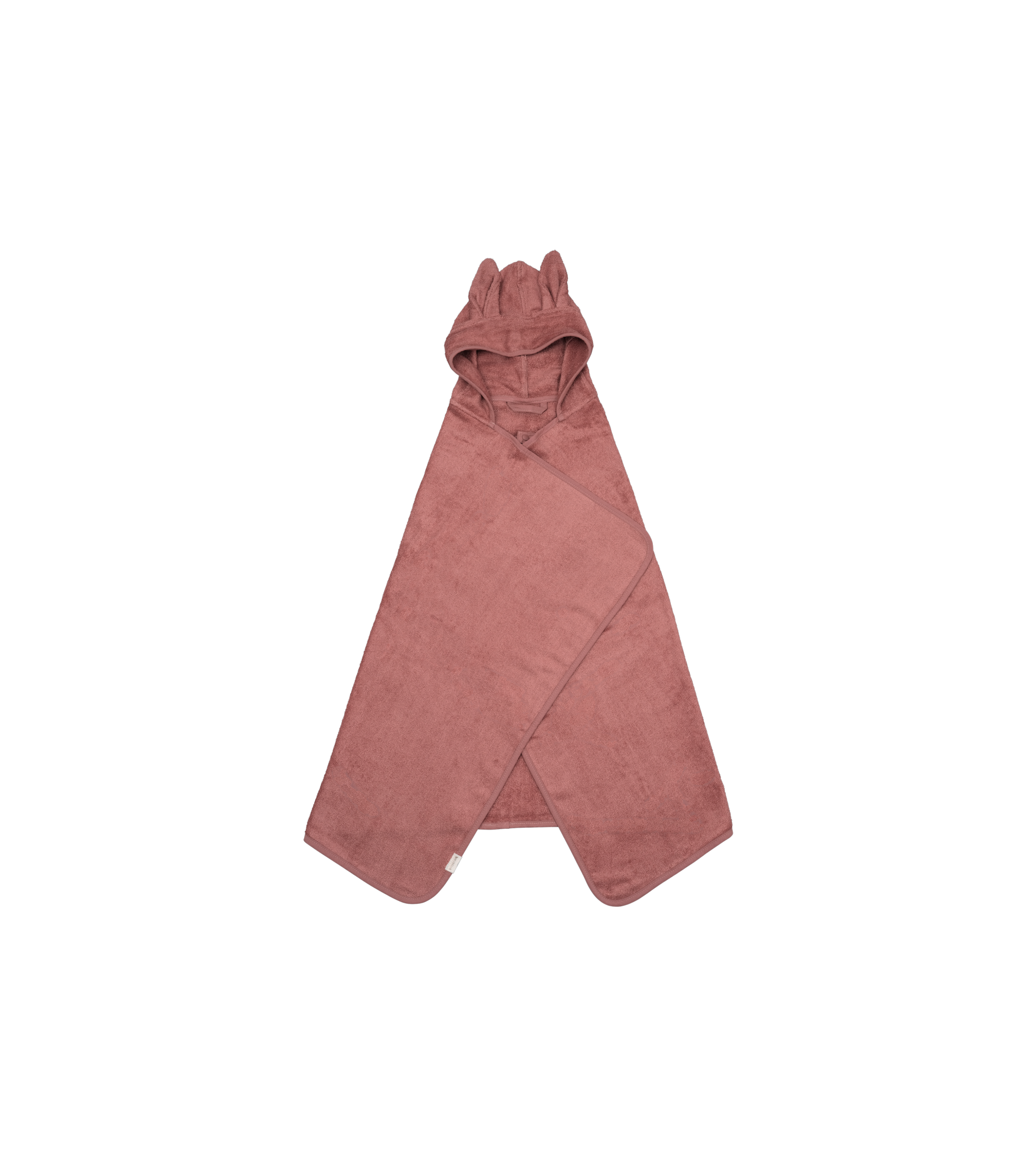 Hooded Junior Towel - Bunny - Clay (primary)_edit.png