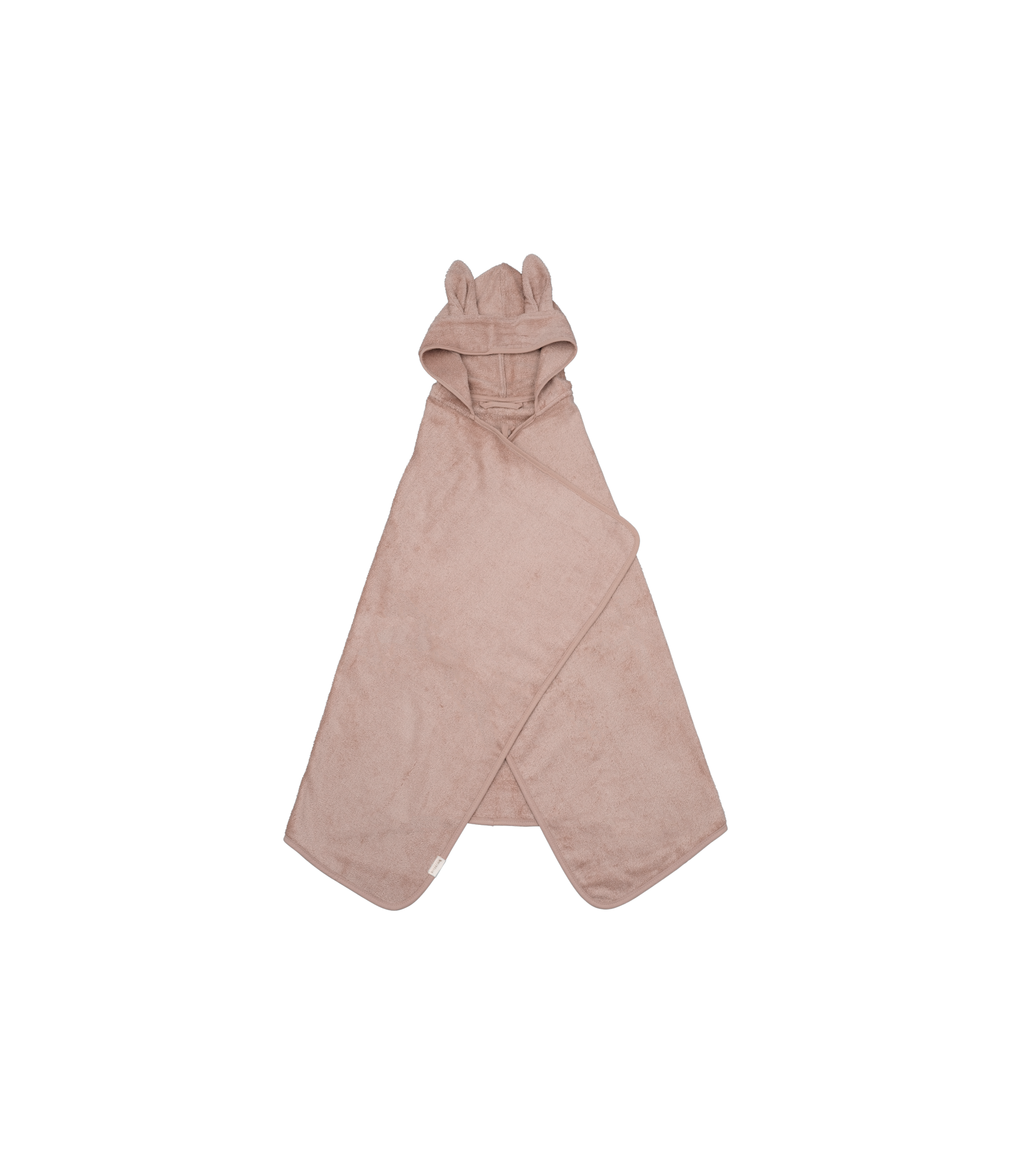 Hooded Junior Towel - Bunny - Old Rose (primary)_edit.png