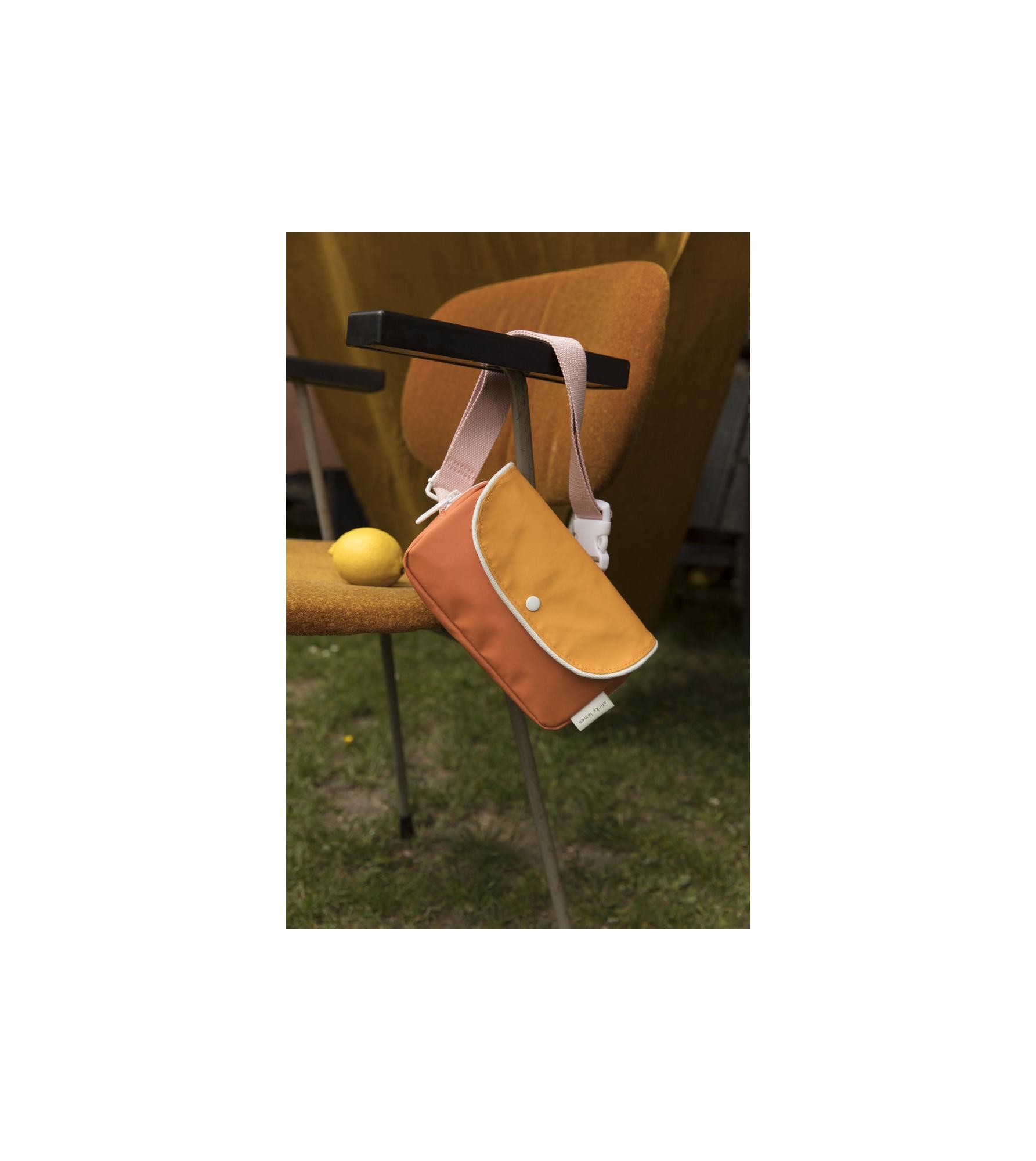 1801667 - Sticky Lemon - fanny pack - wanderer - carrot orange + sunny yellow + candy pink - sty (2).jpg