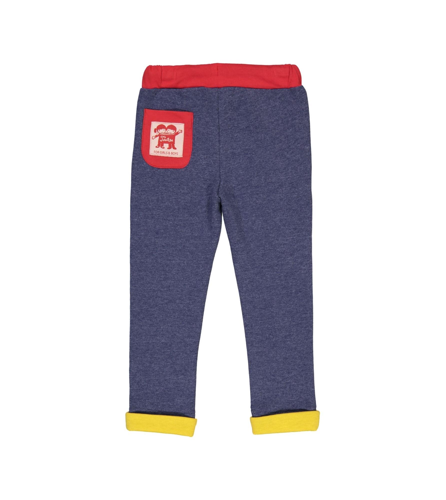 Malmo Slim Fit Sweatpants Heather Blue Back_downsized.jpg