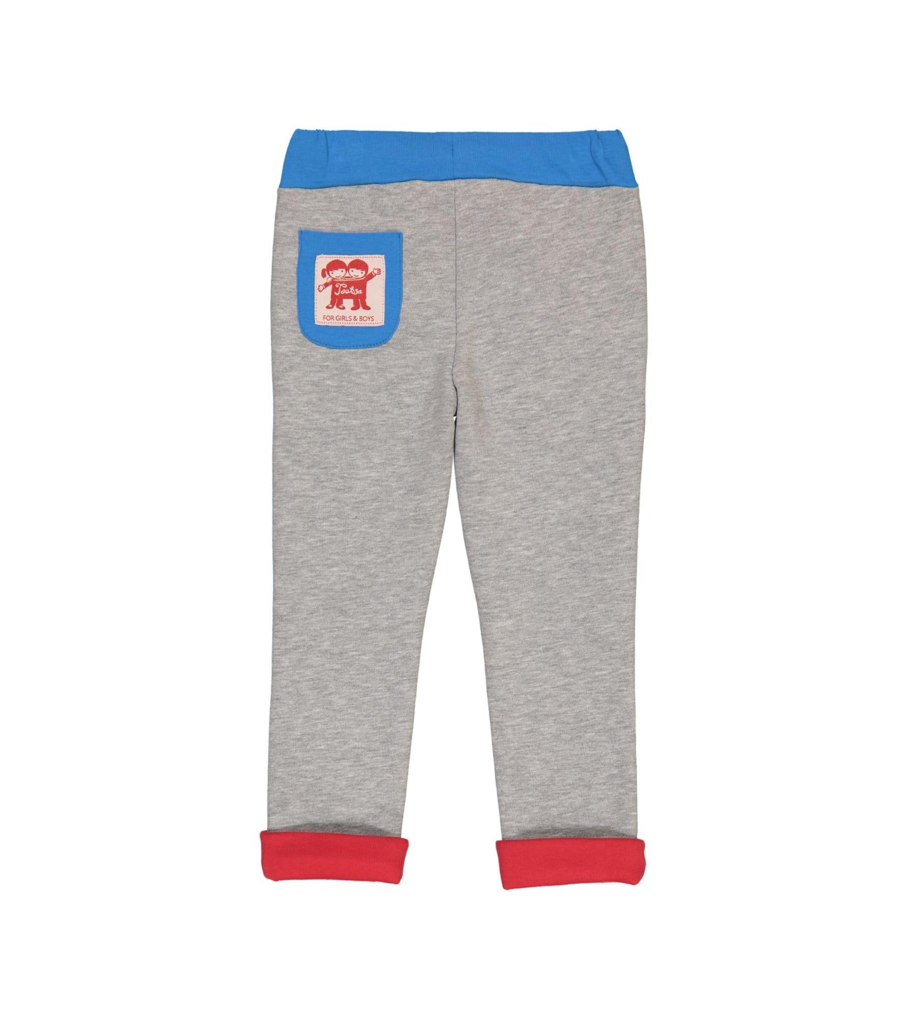 Malmo Slim Fit Sweatpants Light Heather Grey Back_downsized.jpg