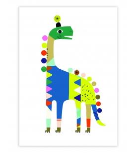 Dinosauruse A3 seinapilt