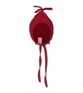 Engel Natur meriinovillafliisist beebi talvemüts / punasesegu