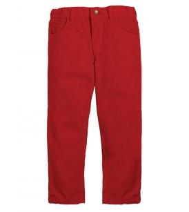 Frugi voodriga velvetpüksid CALLUM / punased