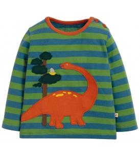 Frugi pluus WILF / dinosaurus