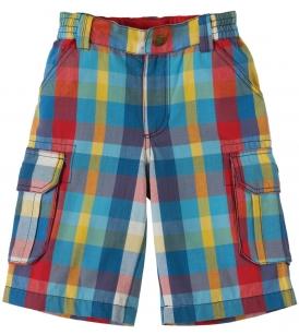 Lühikesed ruudulised püksid
