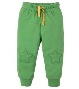Frugi põlvelappidega püksid / rohelised