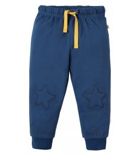 Frugi põlvelappidega püksid / meresinised