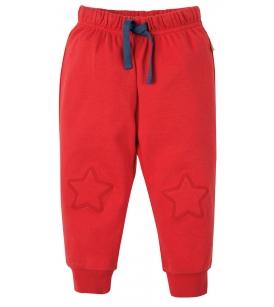 Frugi põlvelappidega püksid / punased