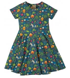 Frugi kleit SKATER / Indigo farm