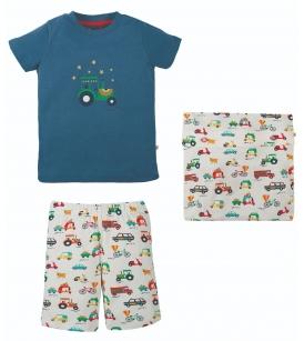 Frugi lühike pidžaama SNOOZY / traktor