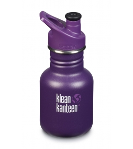 Klean Kanteen spordikorgiga pudel 355ml/ Grape jelly
