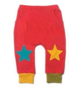 Tähtedega dressipüksid / punased