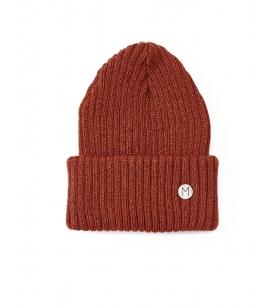 Mainio meriinovillane müts / roostepunane