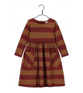 Mainio kleit / punase-pruunitriibuline