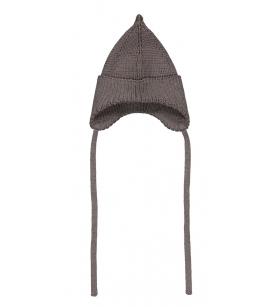 Mainio Pointy paeltega mütsike / tumehall