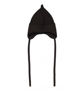 Mainio Pointy paeltega mütsike / must