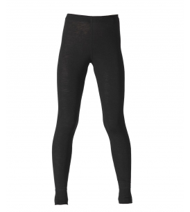 Ruskovilla meriino-siidi pikad aluspüksid / mustad