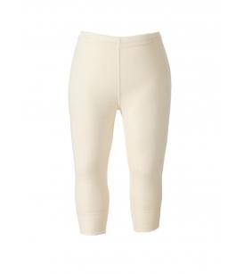 Ruskovilla meriino-siidi pikad aluspüksid / naturaalne valge