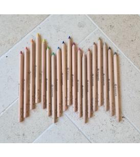 Stockmar kolmnurksed värvipliiatsid / 18 värvi